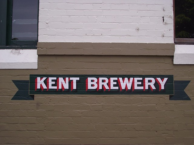 KENT BREWERY opened in 1835 - the brewery closed in 2005